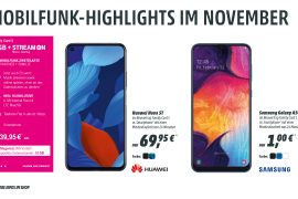 Mobilfunk Highlights im November