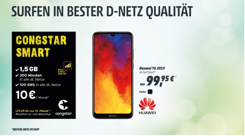 Congstar Smart mit Handy