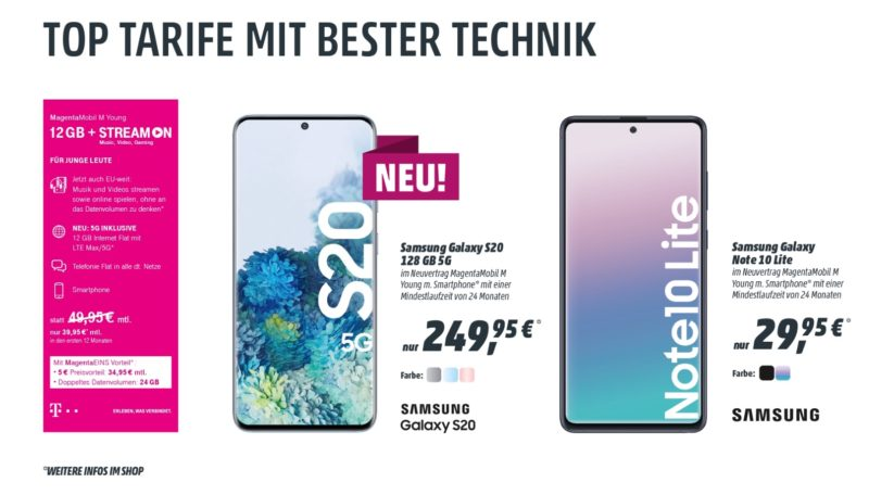 Top Tarife mit Bester Technik