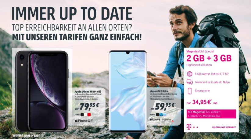 Immer up-to-date mit dem Magenta Mobil Special
