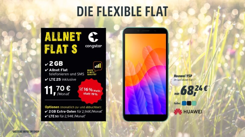 Die Flexible Congstar-Flat