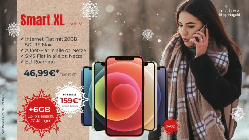 Vodafone Smart XL inkl. iPhone 12